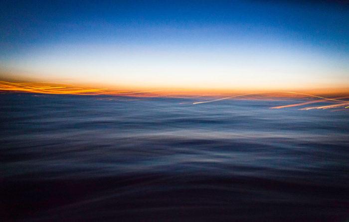 Vatten i soluppgång
