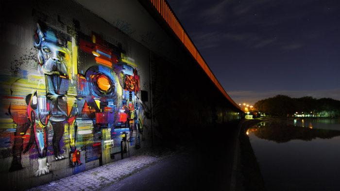 Bridge paint Florian Krause
